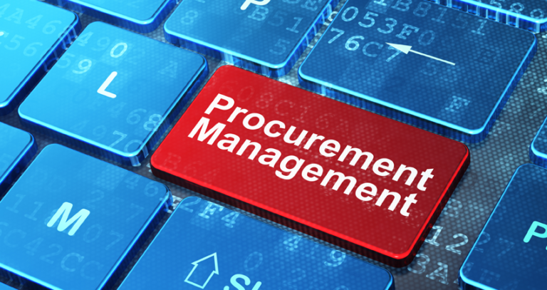 Working with electronic platforms in terms of procurement